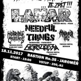 18. 11. 2017, Hell in Bastion: Lahar, Needful things, Horrible Creatures, Murder Inc, Exorcizphobia
