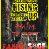 16. 9. 2017, sobota, RISING UP – Temper, Sage, F. A. King, Animal Hate