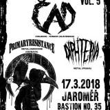 17. 3. 2018, sobota, Winter Infernal Fest vol. 5: ČAD, Primaryresistance, Diphteria
