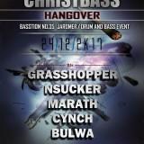 24. 12. 2017, neděle, CHRISTBASS Hangover – djs: Grasshopper, Nsucker, Marath, Cynch, Bulwa