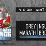 24. 12. 2018, pondělí, Drum & Bass Christmas I Enrage D&B I