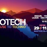 29. 11. 2019, pátek, JAROTECH – From House To Techno